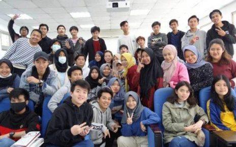 Mahasiswa Babel di Taiwan